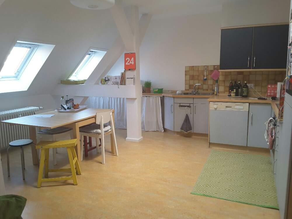 Airbnb Wohnung Küche