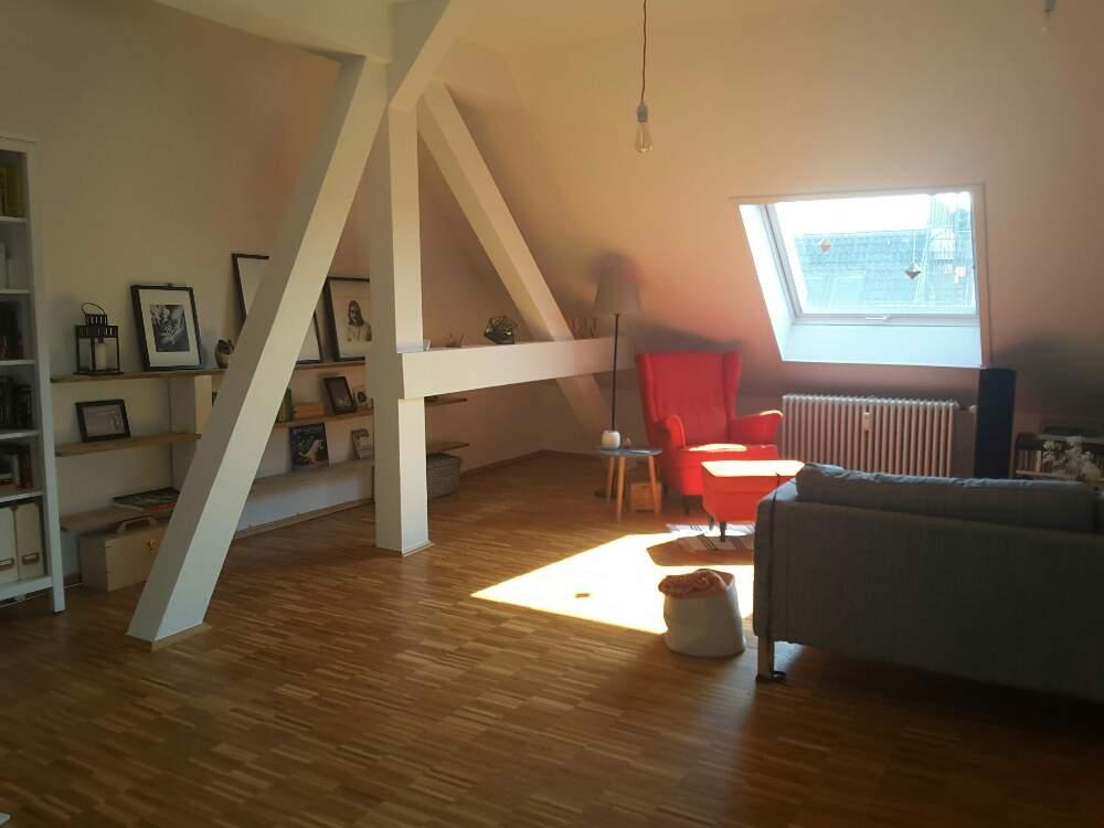 AirBnB-Wohnung Wohnzimmer