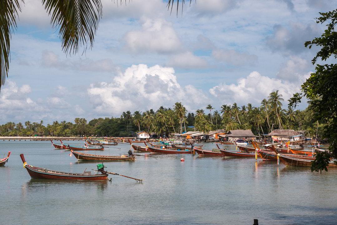 Boote, Ko Muk, Thailand
