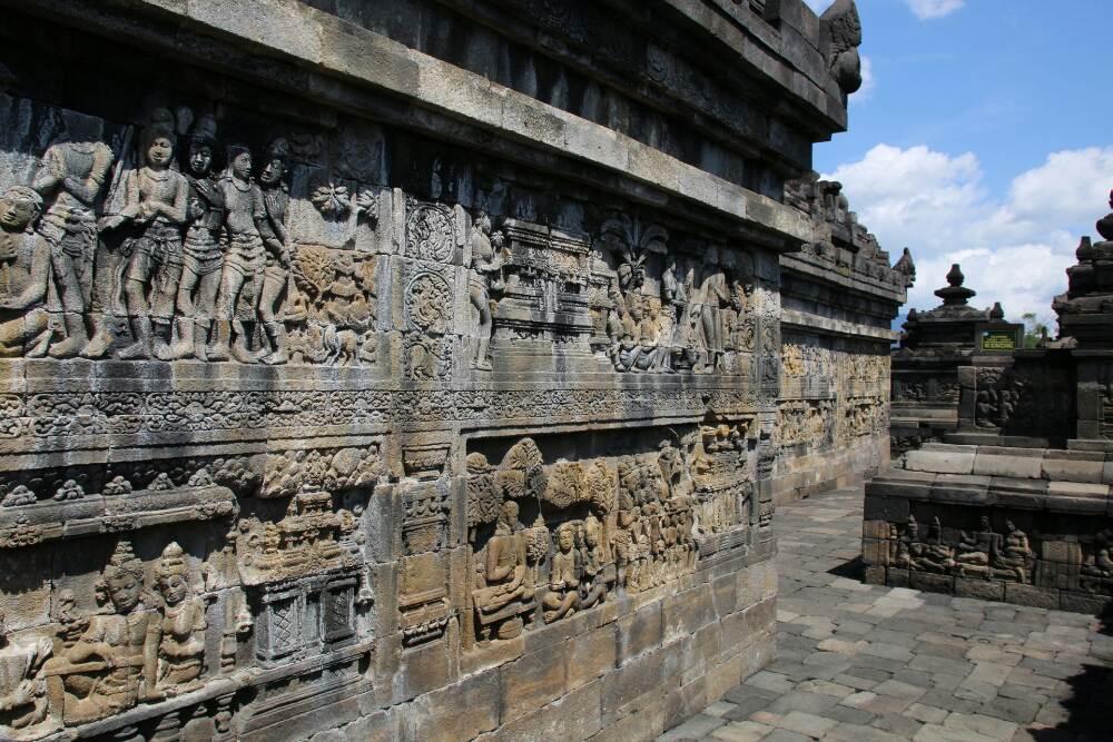 Borobudur - Relief