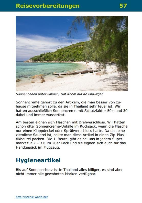 Seite 57 von DIY-Reisen - Thailand 2. Auflage ISBN 9783981990843