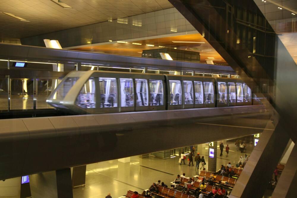 Doha - Neue fahrerlose Bahn