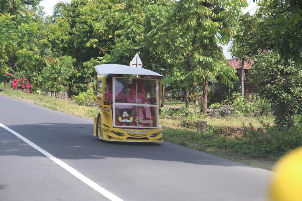 Fahrt nach Gorontalo Bentor