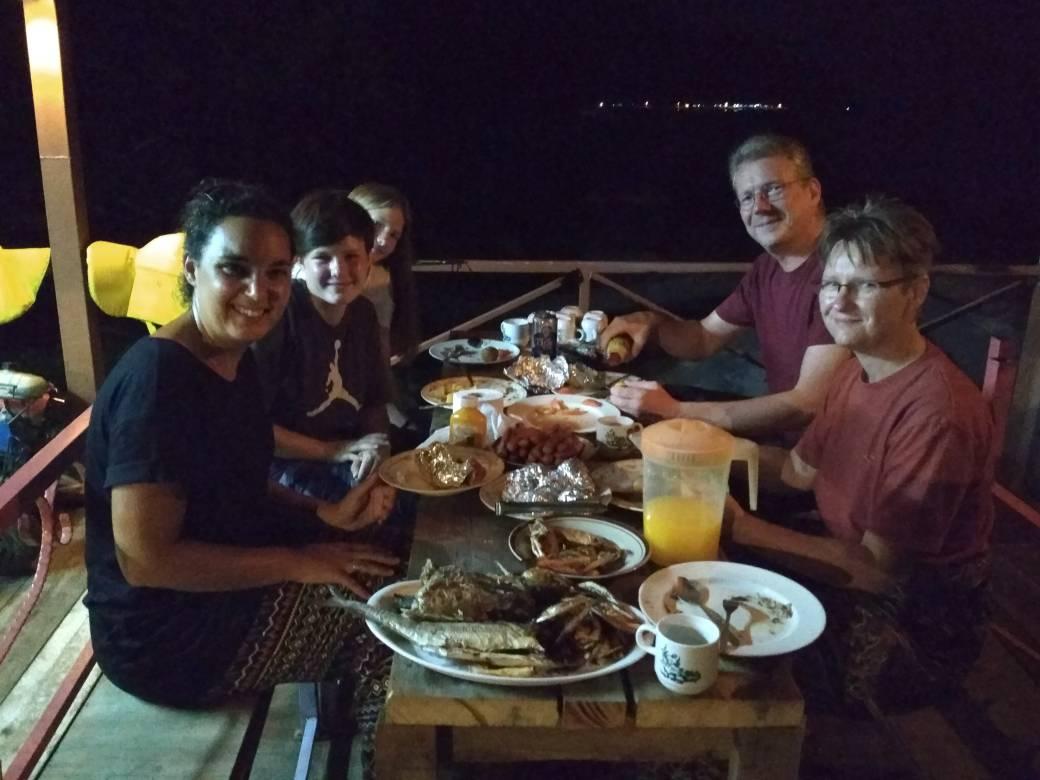 Fish-Barbecue
