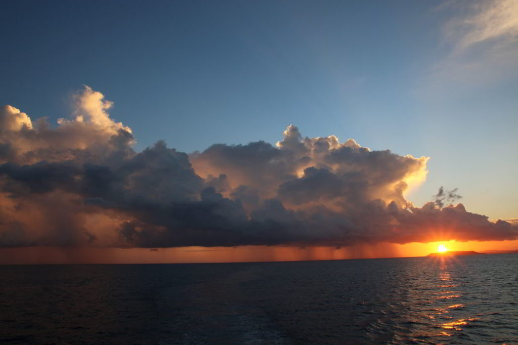 Gorotalo Tuna Tomini Sonnenaufgang