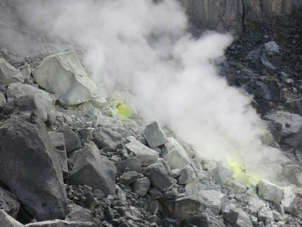 Gunung Sibayak - Schwefelfumerole