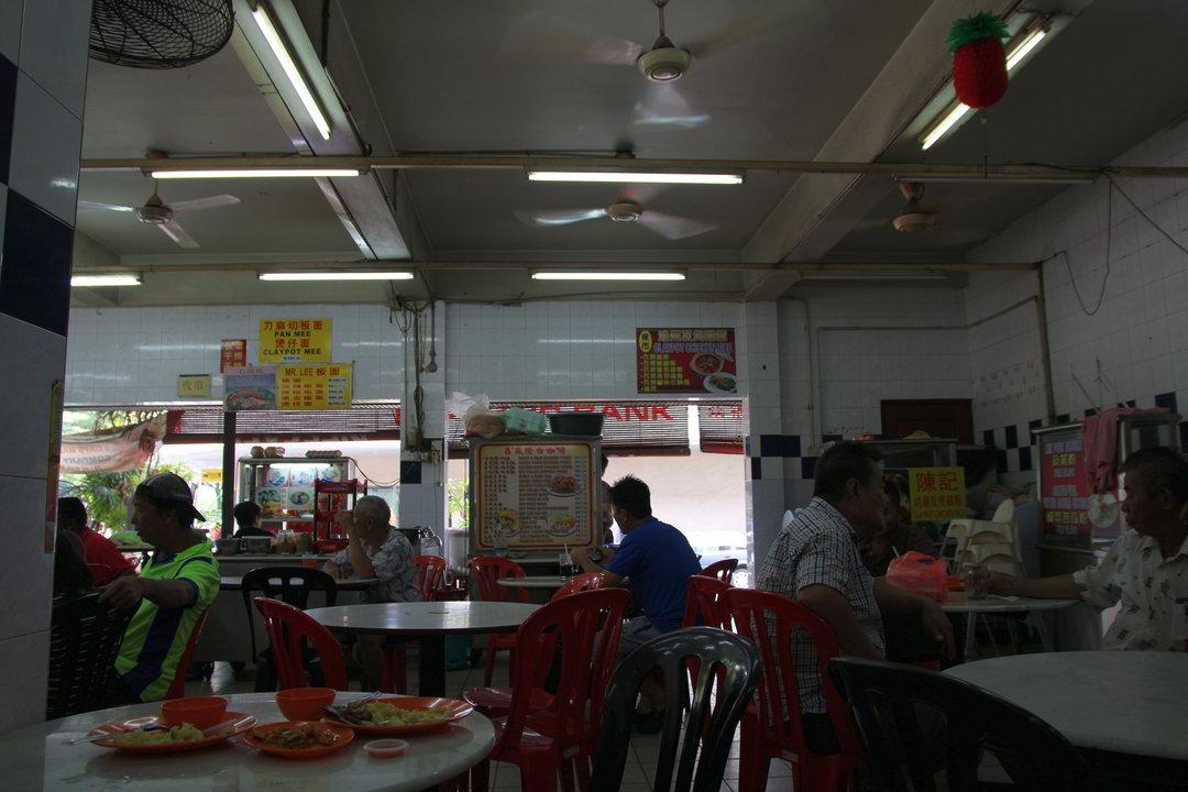 Essen beim Hawker, Ipoh, Malaysia