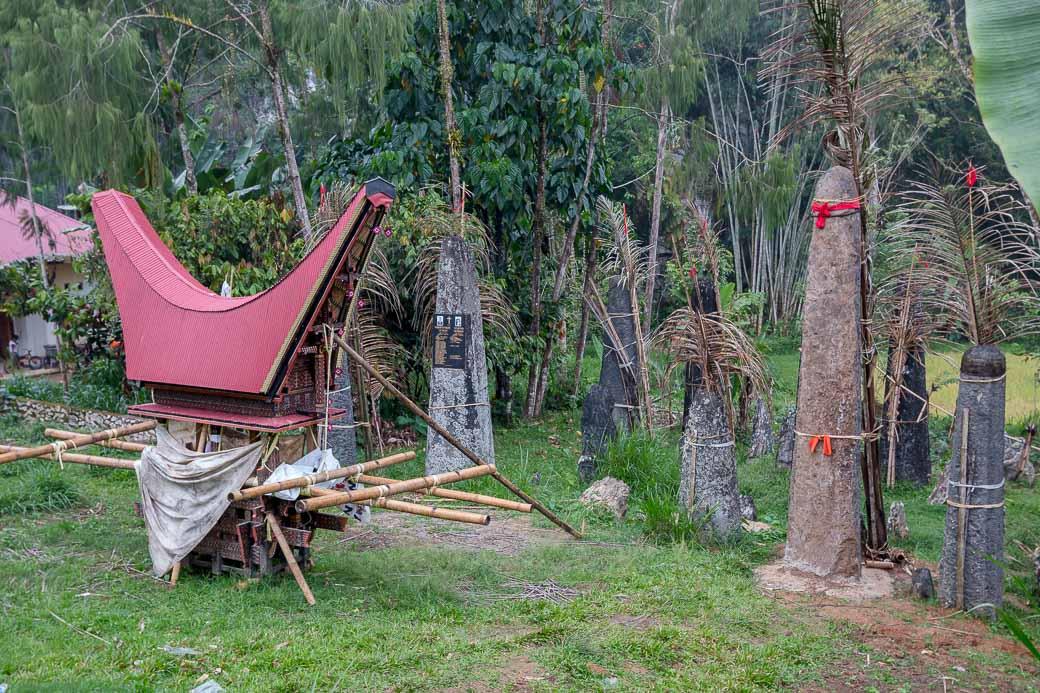 Megalithen in Tana Toraja