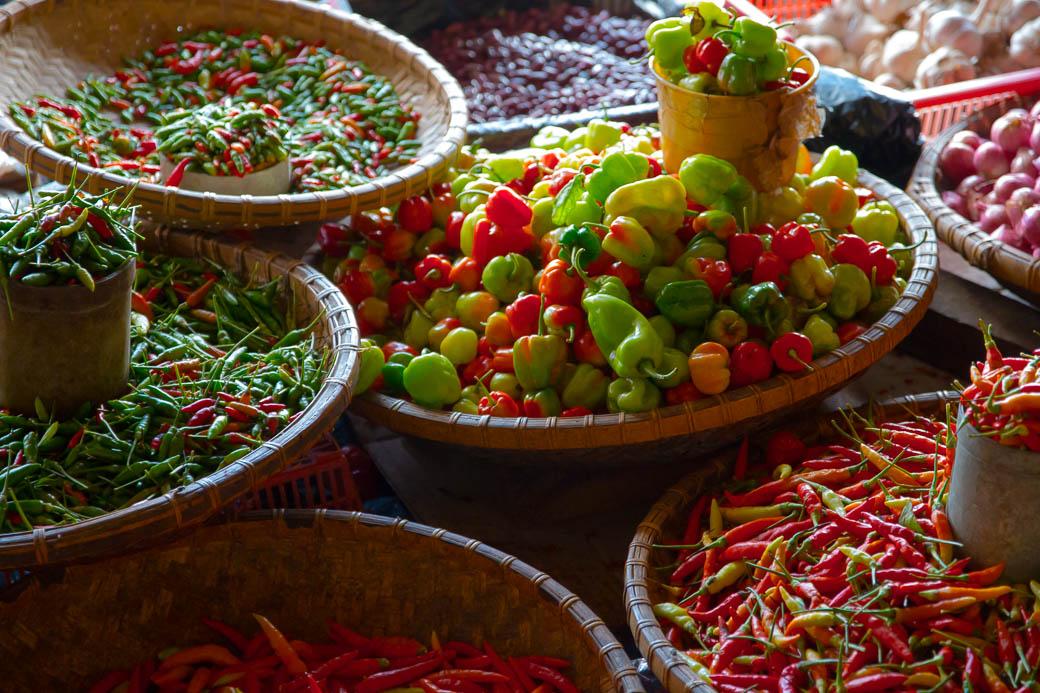 Chilis, Pasar Bolu