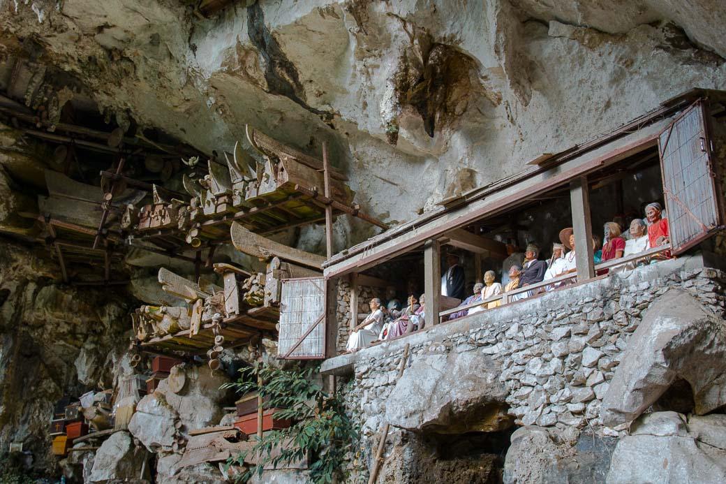 Särge und Tau-Taus, Felsengräber von Londa