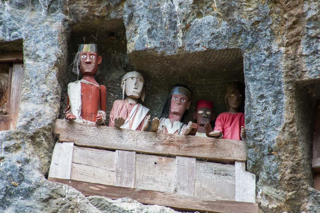 Felsengräber von Lemo