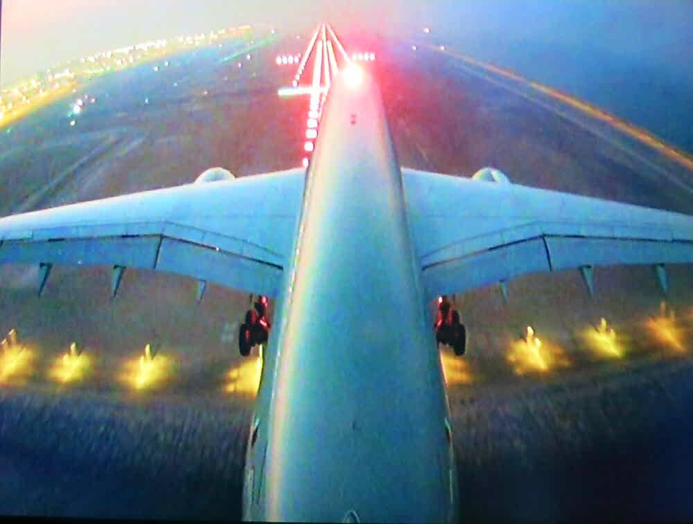 Landeanflug auf Jakarta