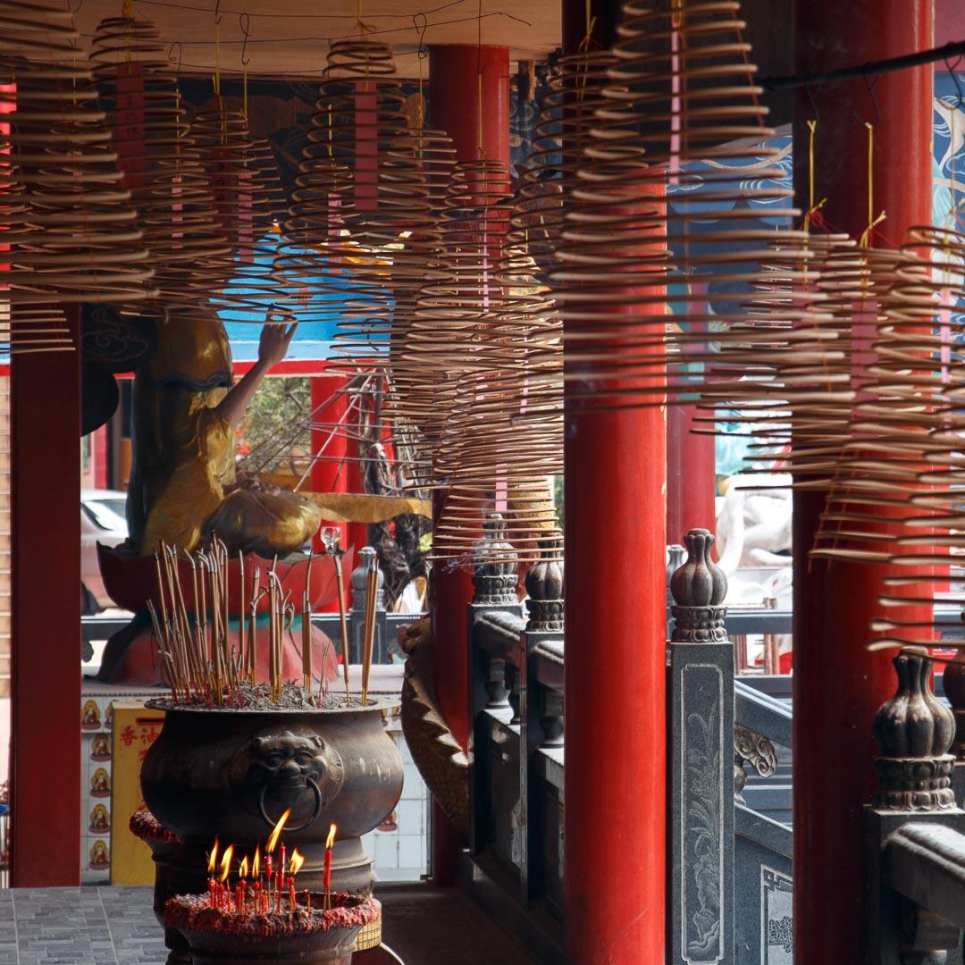 Ling Sen Tong Tempel, Ipoh, Malaysia