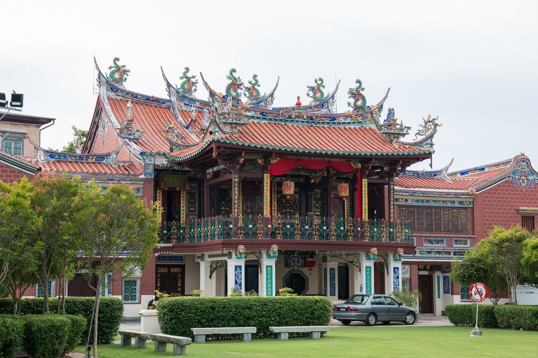 Seh Tek Tong Cheah Kongsi Tempel, George Town, Malaysia