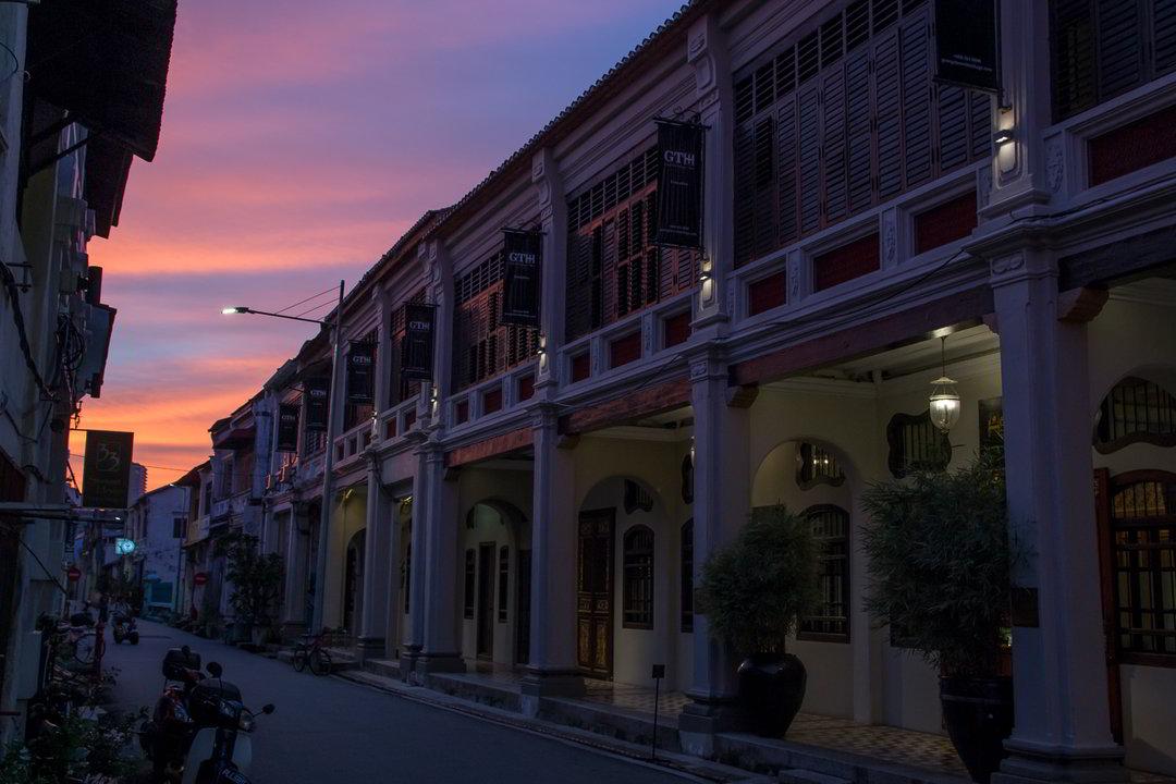 Kolonialstilhäuser, George Town, Penang, Malaysia
