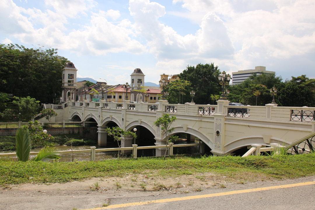 Brücke, Ipoh, Malaysia