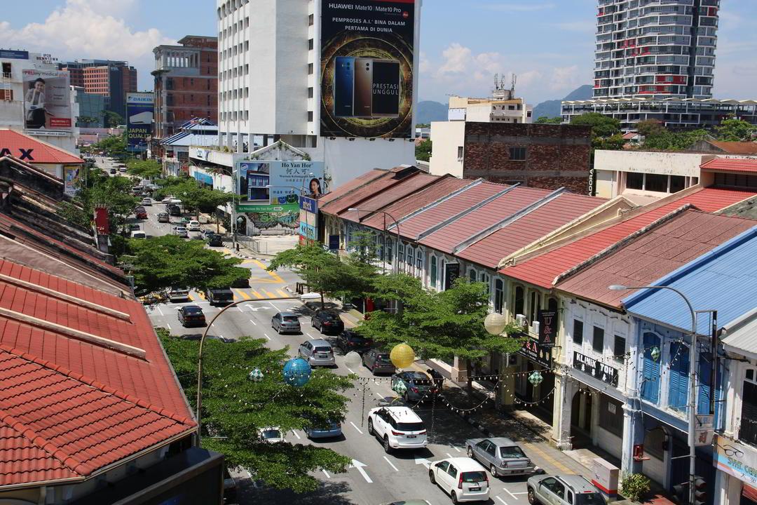 Hotelblick, Ipoh, Malaysia