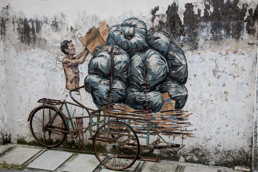 Streetart, Ipoh, Malaysia