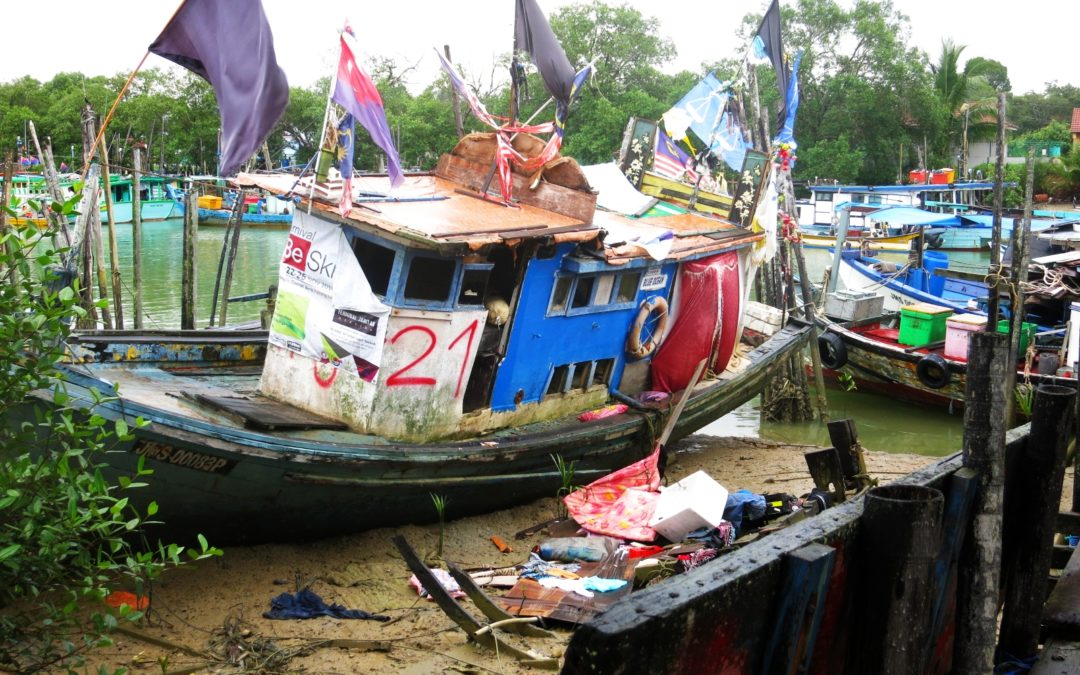 Langer Reisetag von Tioman bis nach Ipoh