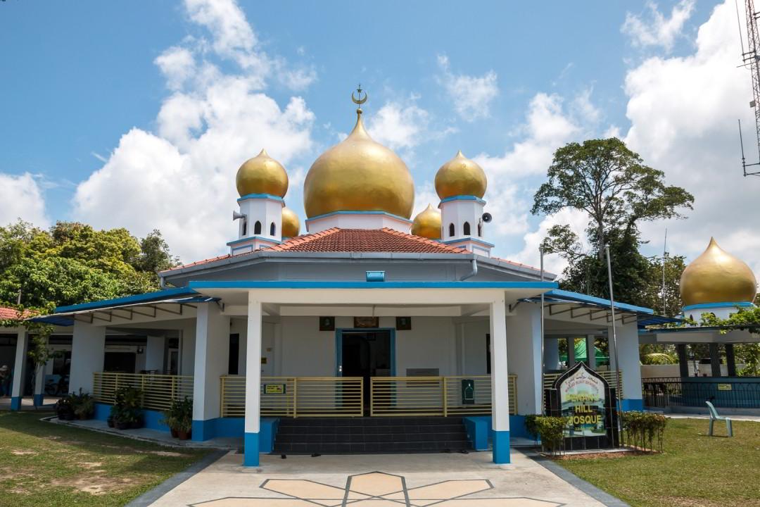 Moschee auf dem Penang Hill, Malaysia