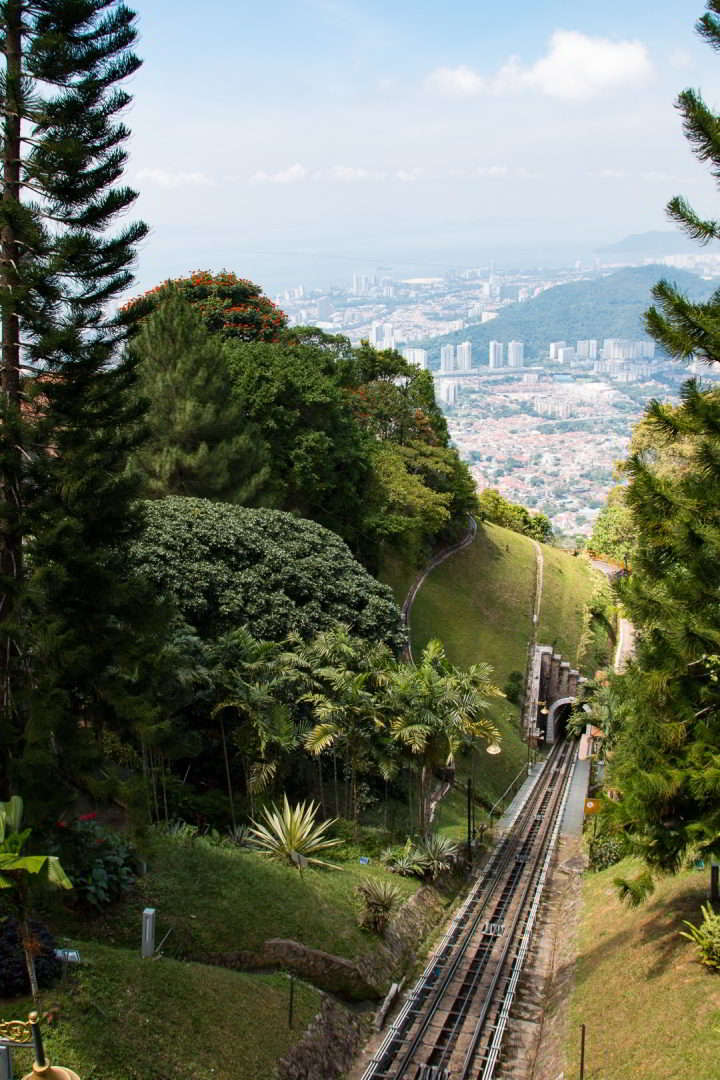 Funicular, Penang Hill, Malaysia