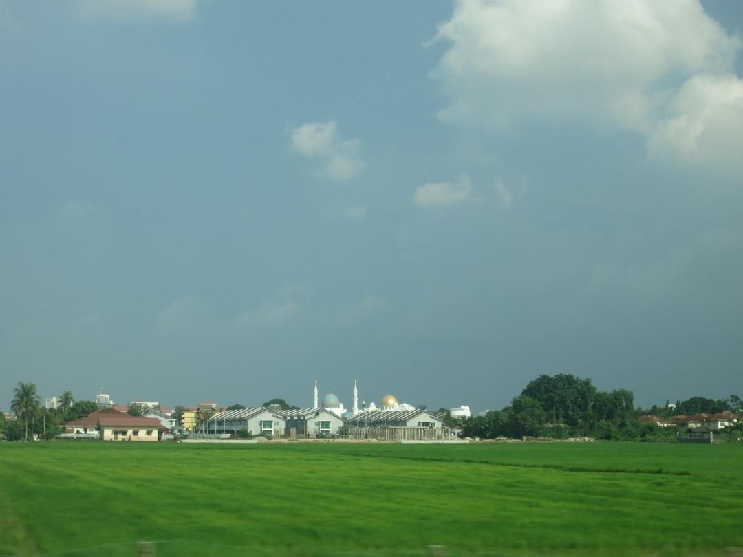 Malaysia Reisfelder Moschee