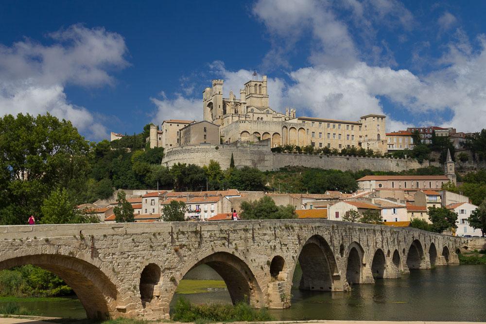 Béziers und Roquebrun