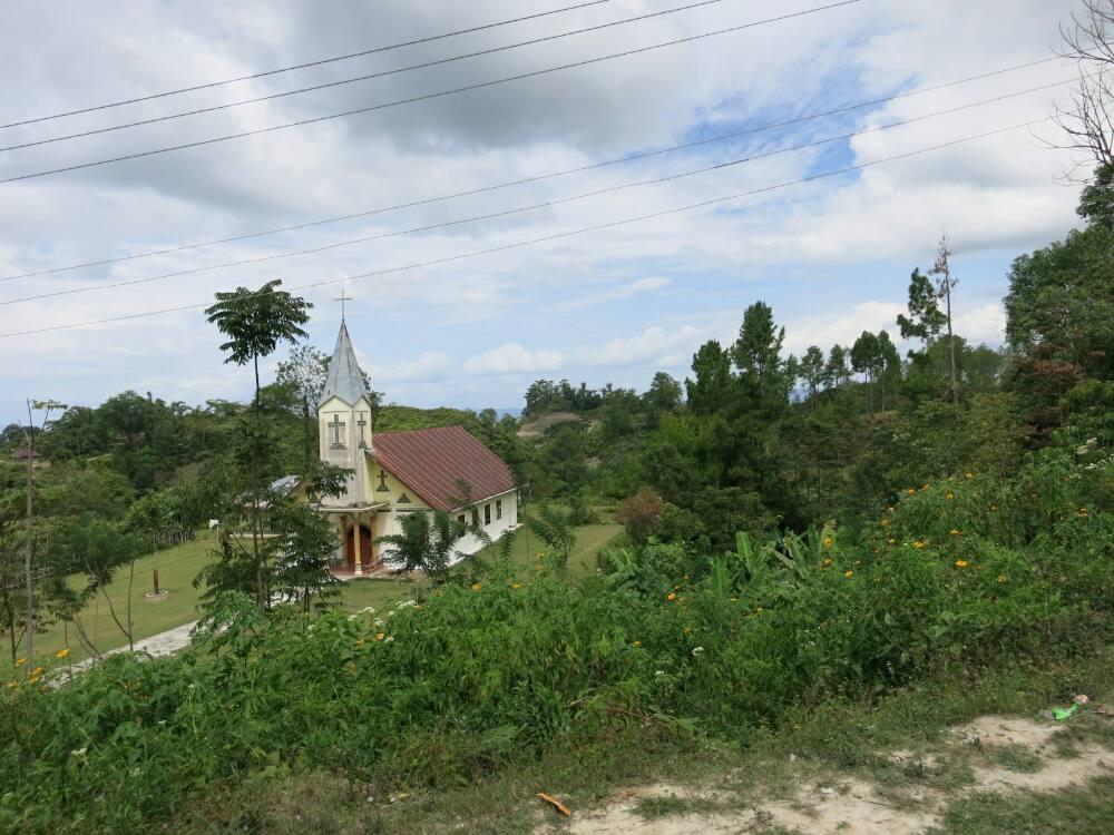 Samosir-Tour - Kirche