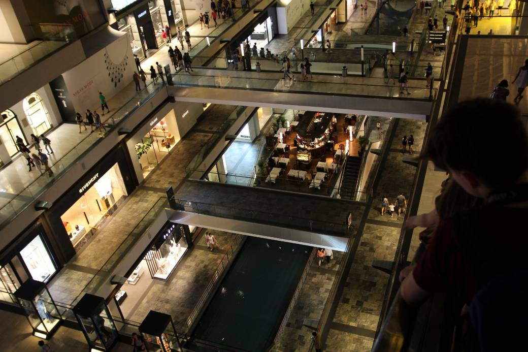 Singapur Marina Bay Mall