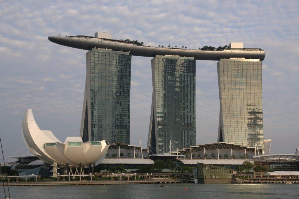 Singapur Marina Bay Sands bei Tag