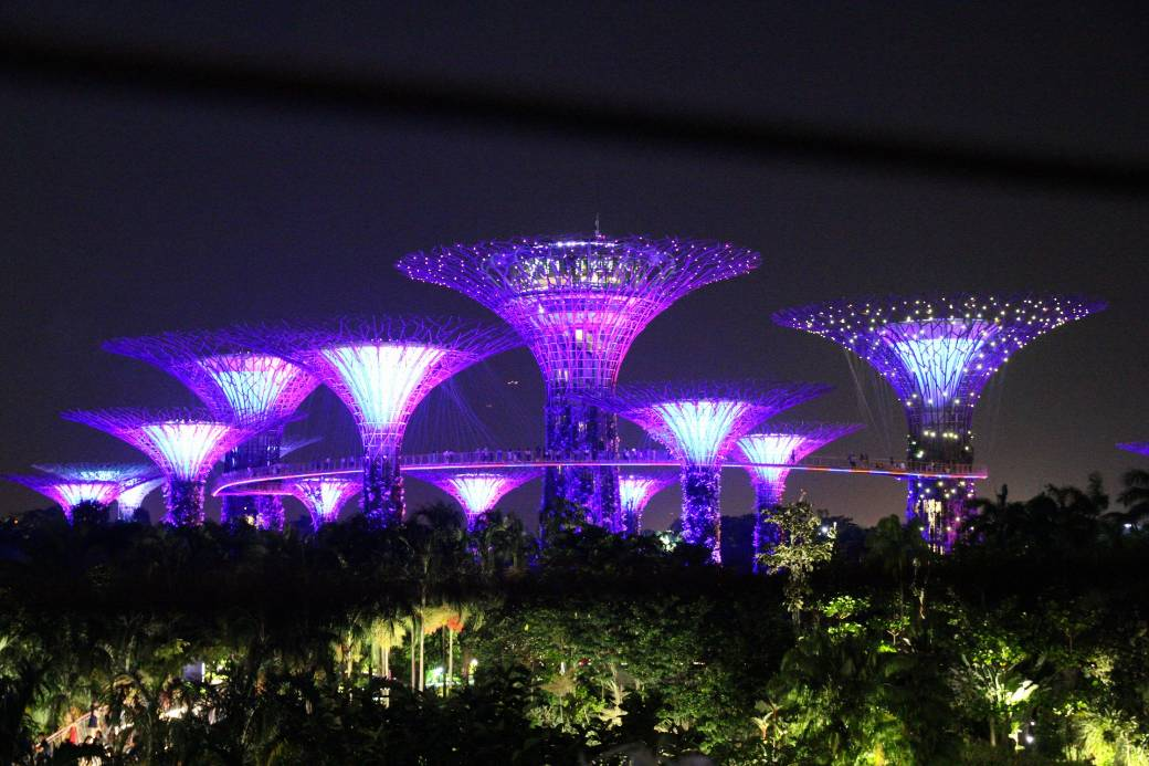 Singapur Super Tree Grove