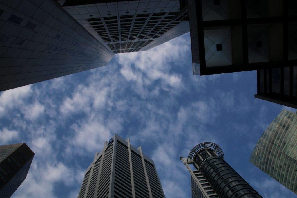 Singapur Wolkenkratzer