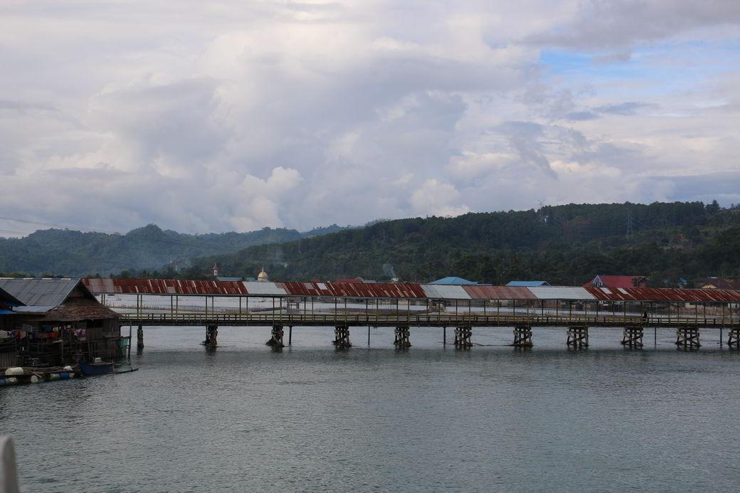 Tentena am Danau Poso alte Brücke