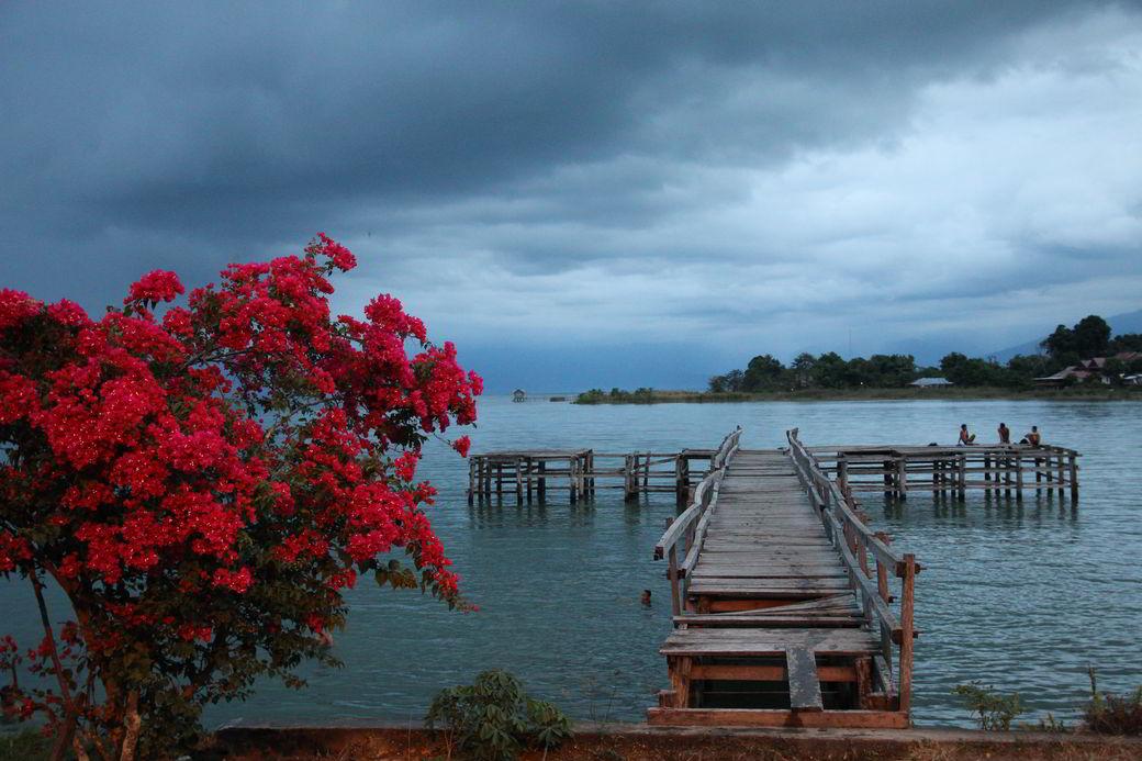 Tentena am Danau Poso