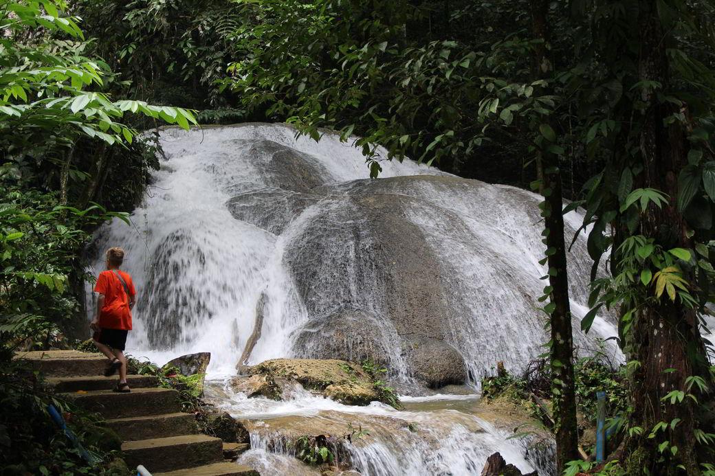 Tentena Salopa-Wasserfall
