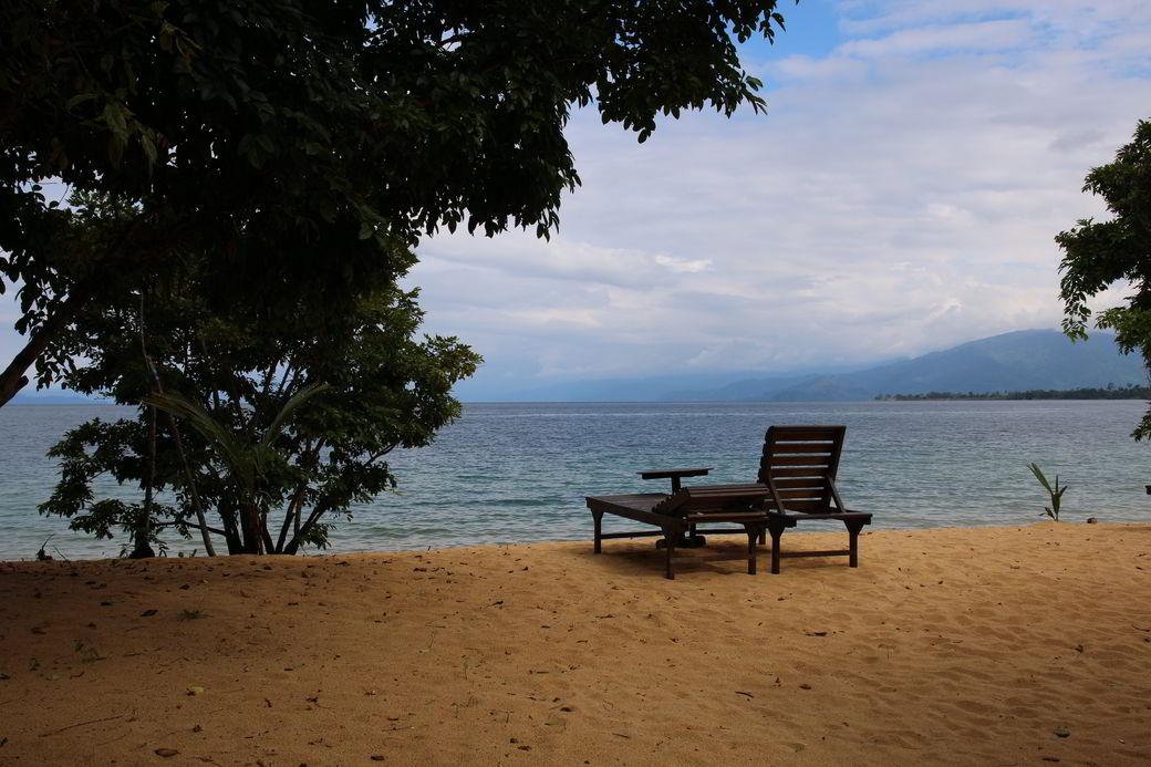 Tentena Danau Poso am Siuri-Beach
