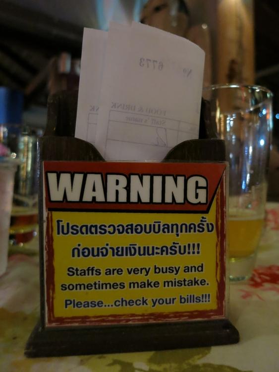Thailand 2014 Asien Bangkok Essen KhaoSan
