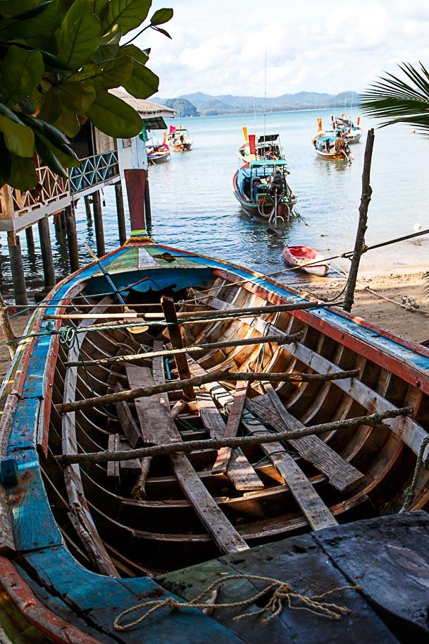Fischerboot, Ko Muk, Thailand