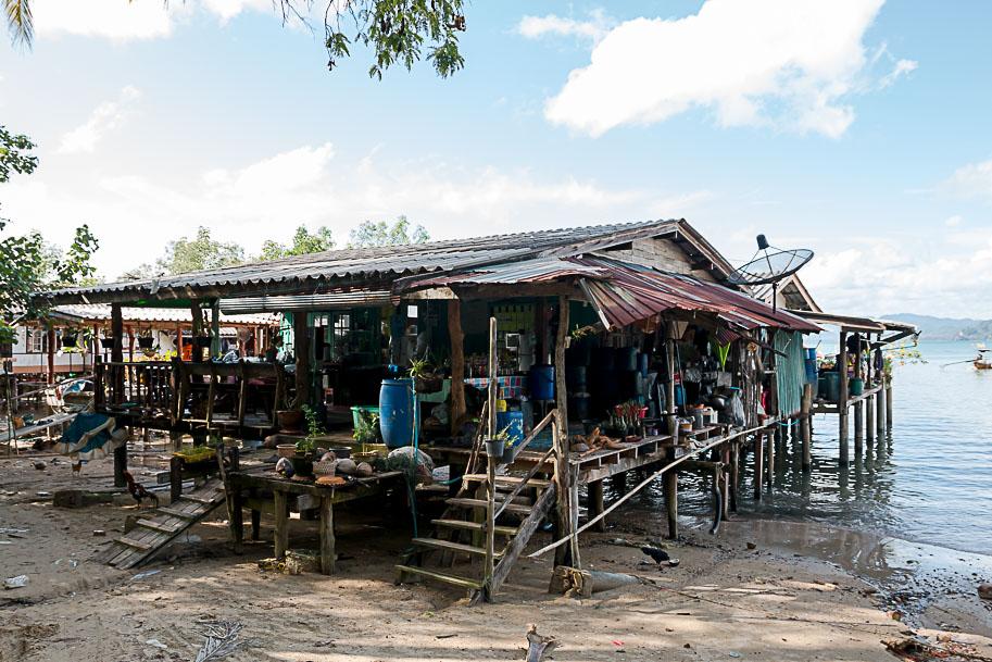 Das Leben auf einer thailändischen Insel kann hart sein