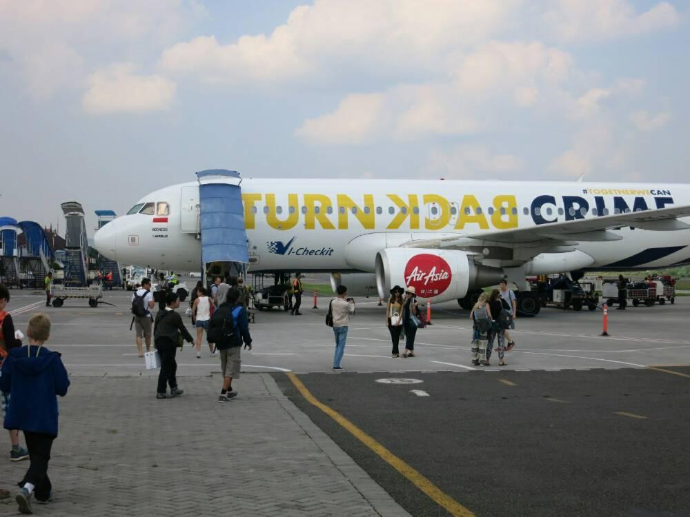 Yokjakarta - Air Asia nach Bali