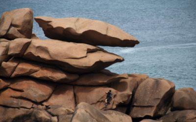 Klettertour durchs Felsenchaos