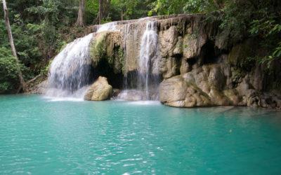 Erawan-Wasserfälle