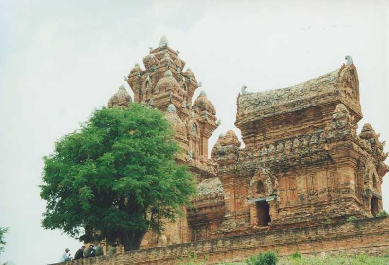 Cham-Tempel in der Pinkelpause