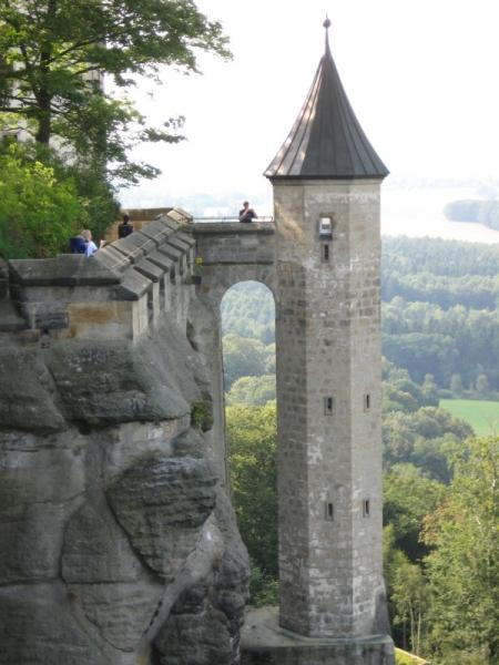 Affensteine, Festung Königsstein
