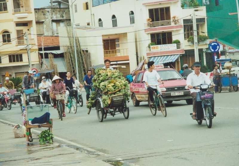 Dachterrassen-Romantik in Saigon