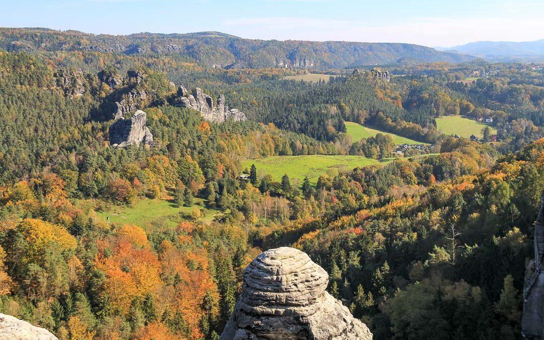 1. Tag: Liebethaler Grund – Kurort Rathen (19,8 km)