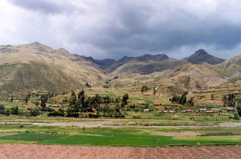 Zugfahrt zum Titicaca-See